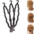 Venda quente 1 pcs Magia Varas Do Cabelo De Padrão de Gancho Duplo Fabricante de cabelo Beleza E Eazy Hair Styling de Alta Qualidade Livre grátis