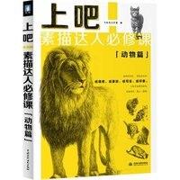 Hayvan Kaplan Aslan Kedi Leopar Kroki Tekniği Sanat Kitabı (Çince Edition)