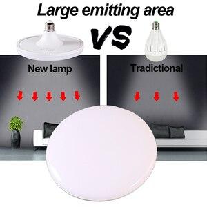 Image 3 - LED הנורה E27 220V חיסכון באנרגיה מנורת SMD5730 20W 40W 50W 60W קר לבן UFO lampadas הוביל אורות לבית Bombillas Led בציר