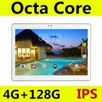 10 inch tablet PC אוקטה Core אנדרואיד 5.1 4 GB RAM 128 GB ROM 8 Core כרטיס סים הכפול GPS Bluetooth שיחת טלפון טבליות 10 מתנות 10.1