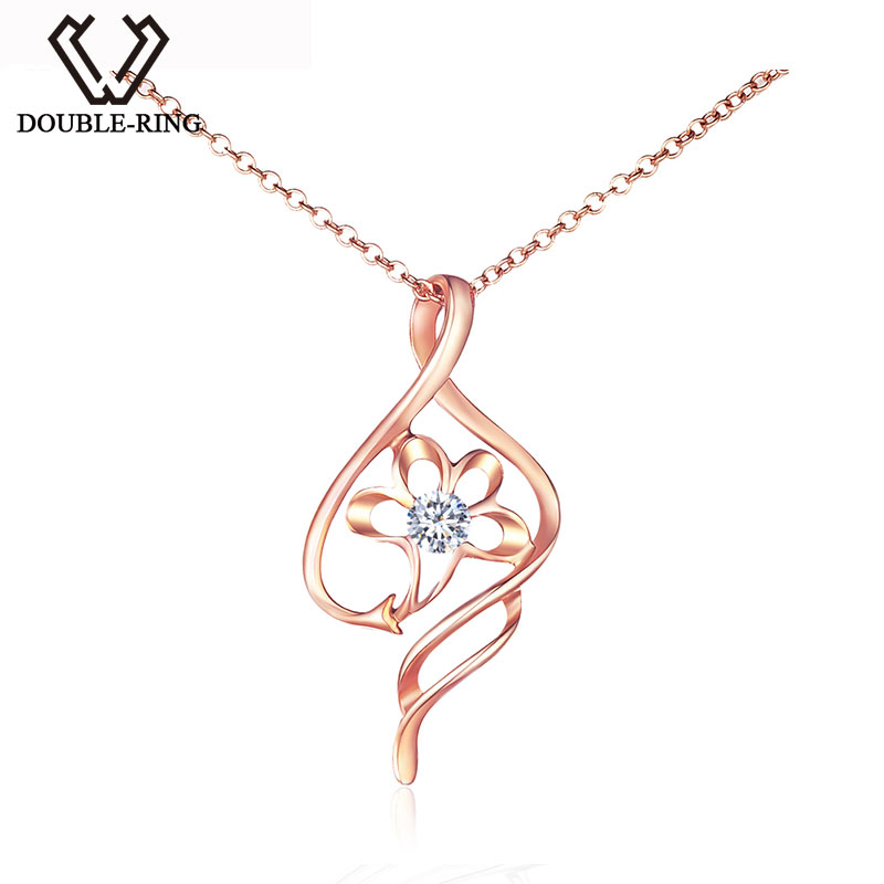 Double r hot sale diamond pendants 18k rose gold free shipping double r hot sale diamond pendants 18k rose gold free shipping newest fine jewelry pendant with silver necklace cap01833a 3 in pendants from jewelry mozeypictures Gallery