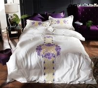 Rustic flower bedding set adult teen,full queen king cotton 100s elegant floral home textile bed sheet pillow case quilt cover