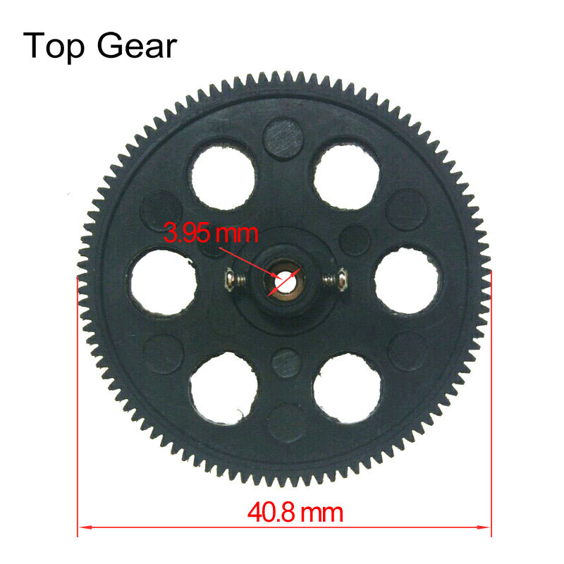 RC Helicopter Spare Parts 41 mm Main Gear for YD 215 615 811