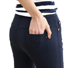 FSDKFAA 2018  NEW Arrival Stretch Well 3 Colors Plus Size High Waist Full Length For Four Seasons Women Skinny Pencil Jeans