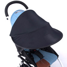 Baby Stroller Sun Shade Canopy Cover Infant Kids Carriage Sun Visor for yoya Car Seat Buggy Pram Accessories Cap(China)