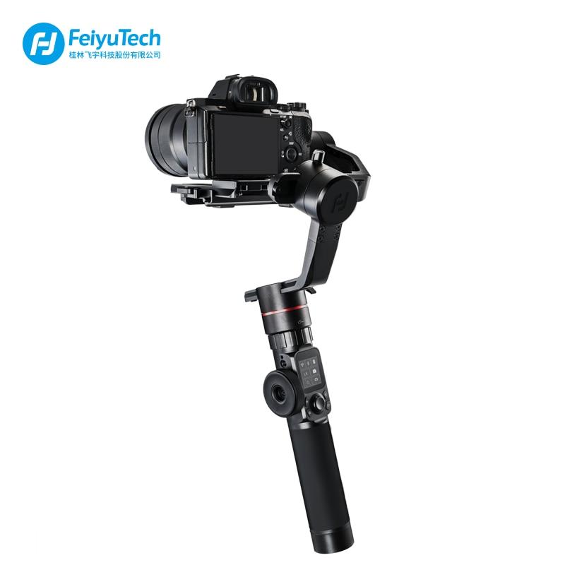 FeiyuTech Feiyu AK2000 3-Axe Brushless De Poche Caméra Stabilisateur Cardan pour Sony Canon 5D 6d Panasonic GH5 Nikon D850 2.8 kg
