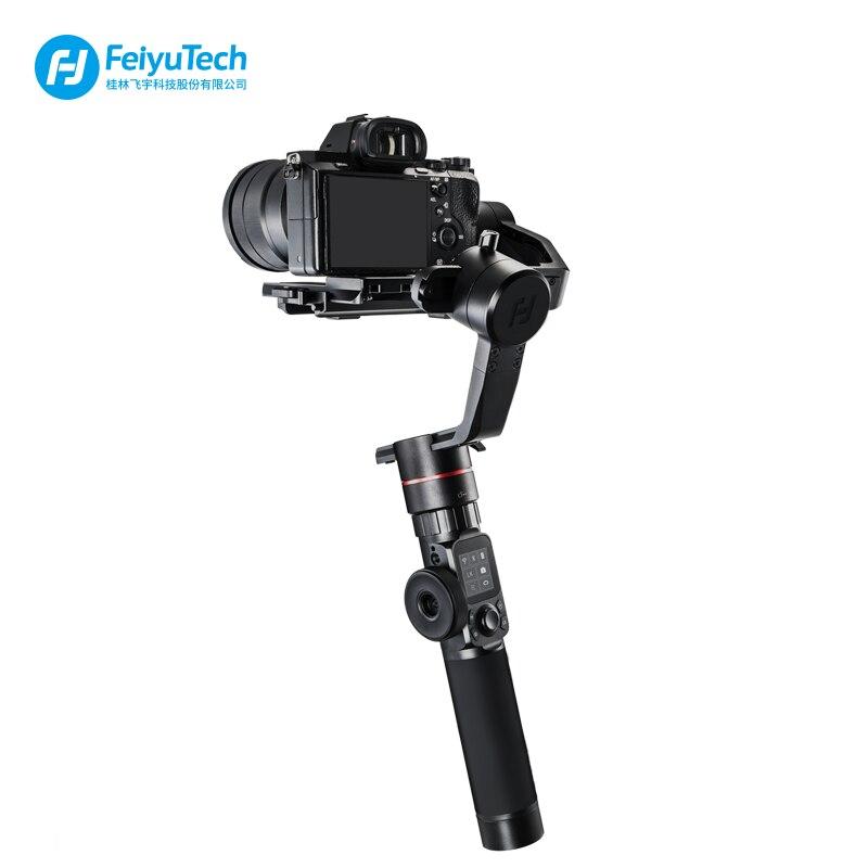 FeiyuTech Feiyu AK2000 3-Axis Brushless Portatile Della Macchina Fotografica Stabilizzatore Gimbal per Sony Canon 5D 6d Panasonic GH5 Nikon D850 2.8 kg