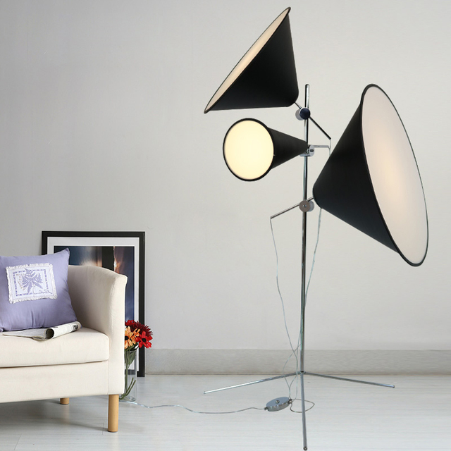 Free shipping led floor lamp designer floor lighting aluminium metal free shipping led floor lamp designer floor lighting aluminium metal for living room loft lighting portable aloadofball