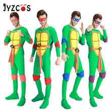 JYZCOS Teenage Mutant Ninja Turtles Costume Halloween Costumes for Men Purim Carnival Party Costume цена