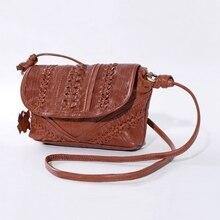 Vendange original design cowleather literature and art female leather handbag 8732