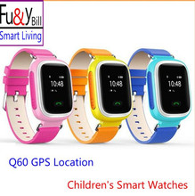 Fu&Y Bill GPS Q60 positioning children's smart watch track tracking anti lost a key SOS child phone watch PK Q50 Q80 Q90 V7K