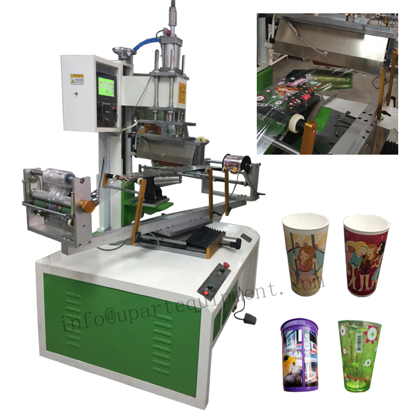 Heat Transfer Foil Printing Machine For Conical Cups