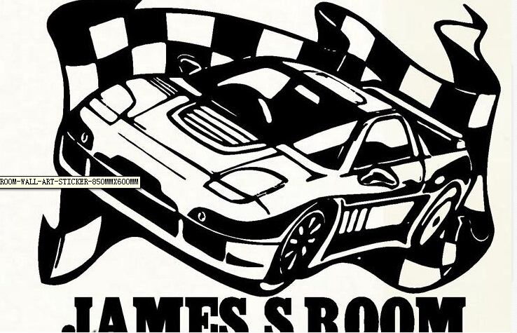 Online Get Cheap Vinyl Racing Flag Car Stickers Aliexpress Com