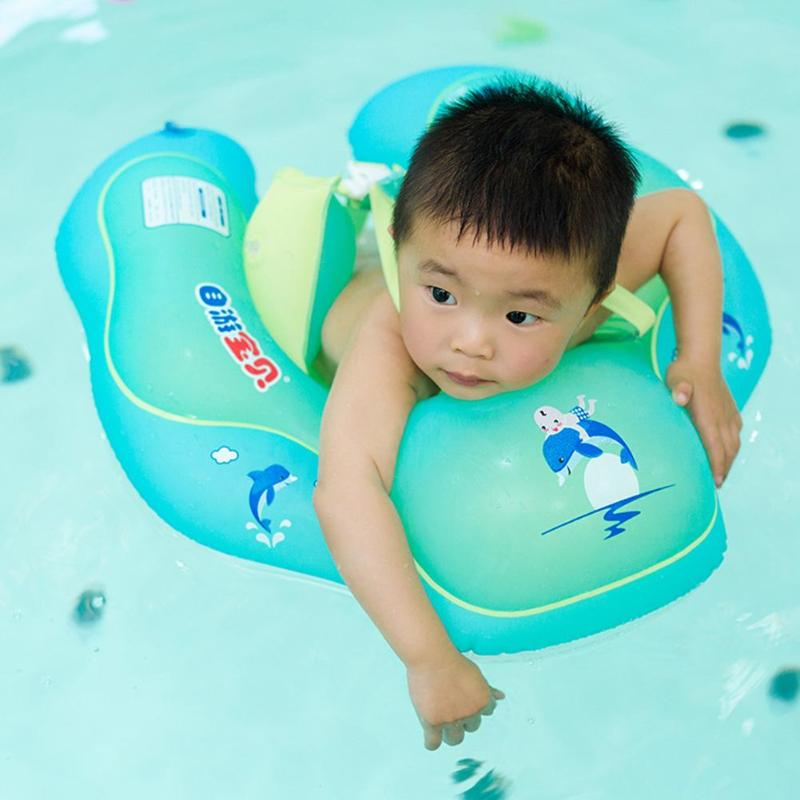 Baby Helpful Baby Summer Neck Ring Toddler Infant Inflatable Bathing Float Circle Safe Bathing Accessories