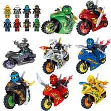 OLeKu Toys ninja Building blocks bricks Kai Jay Zane Nya Lloyd With Weapons Action Compatible Hot Sale Ninjagoing Figures