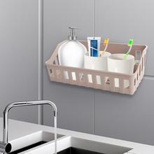 Free Hole Storage Rack for Bathroom Kitchen Shower Shelf Basket Sucker Organizer Shampoo Holder
