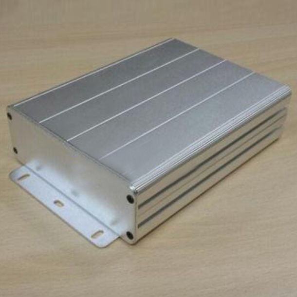 2PCS Aluminum alloy PCB Instrument shell electric plate wall mounting enclosure Project box DIY 122x44x160mm NEW 1 pc white small plastic network enclosure diy pcb aluminum project box case140 100 30 mm 5 5 3 9 1 2 inch