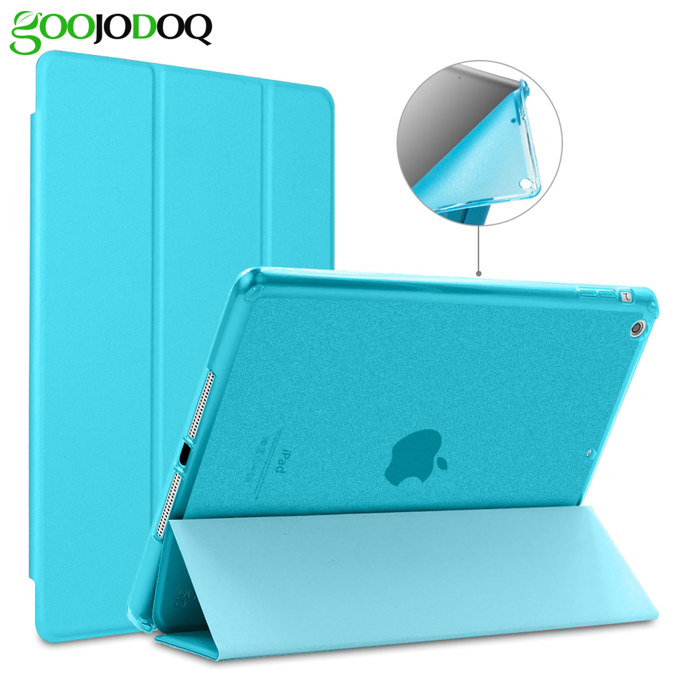 Til iPad Air 2 Air 1 Case [Glitter Silicone Soft Back] PU Læder Smart Cover til Apple iPad Mini 1 2 3 Etui til iPad Air Tablet
