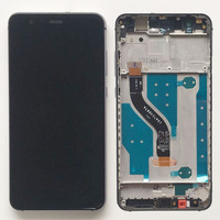 5 2 Black Touch Screen Digitizer LCD Glass Display Assembly Frame For Huawei P10 Lite