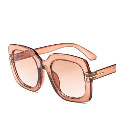 COOLSIR New Arrival Double Hit Color Jelly Frame Fashion Women Men Sunglasses Trending Ladies Gradient Lens Square Sun Glasses in Women 39 s Sunglasses from Apparel Accessories