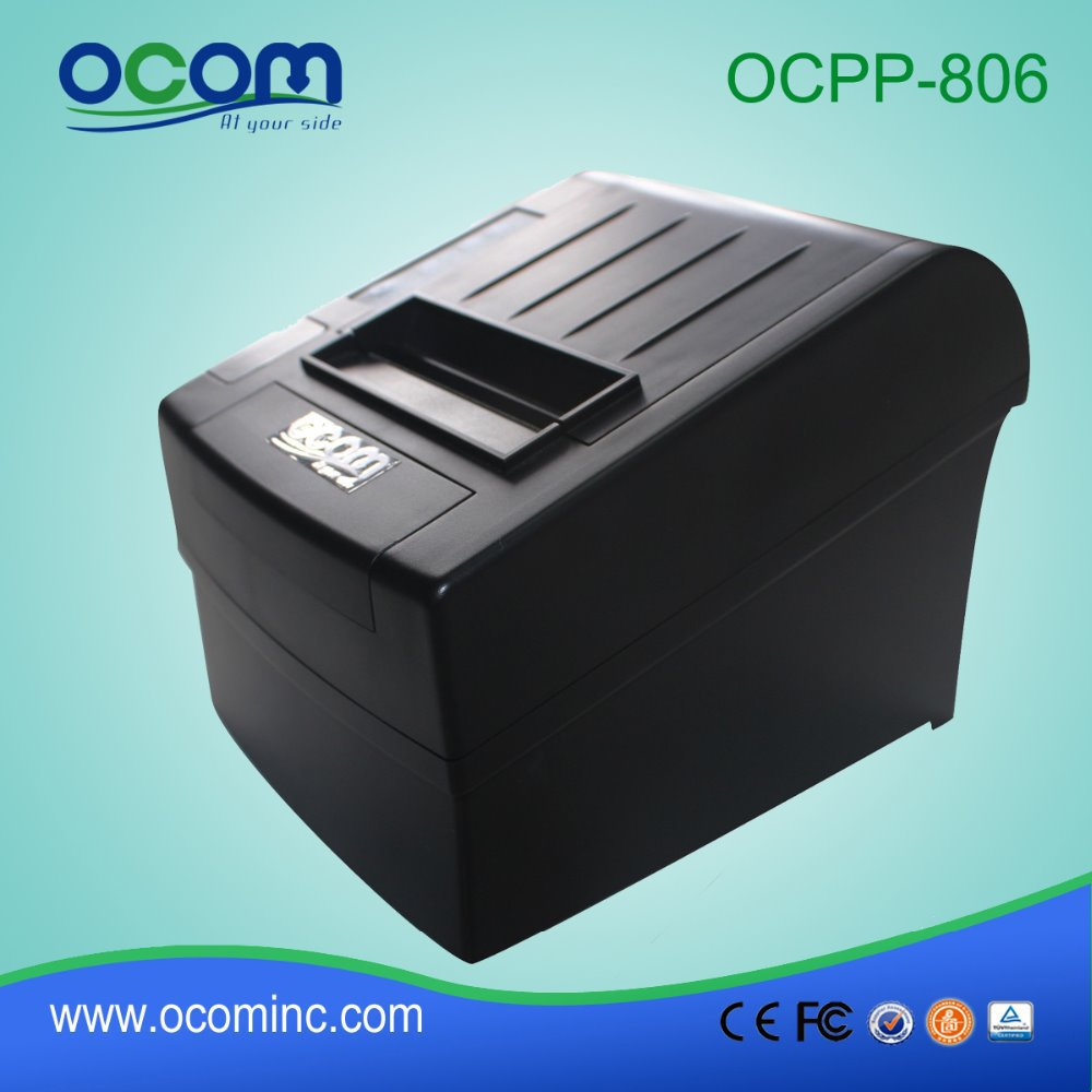 80mm Thermal Receipt Printer With Serial+USB+Ethernet Port , auto cutter( OCPP-806)