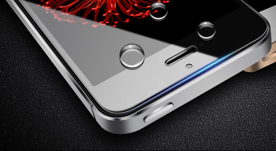 CHYI bez odcisków palców matowe szkło dla iphone 5s SE 5C ochraniacz ekranu oleofobowa powłoka 9 H dla iphone 7 8 plus xs Max XR szkło 23