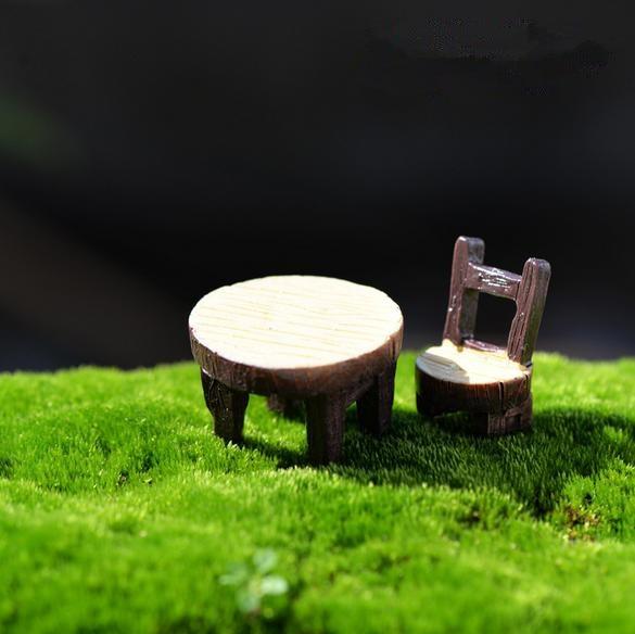 ∞Hermoso micro paisaje Hada jardín miniatura mini Muebles ...
