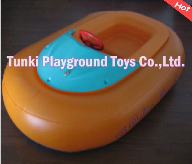 kids bumper boar with motor and colorful floating-in Water Play ...