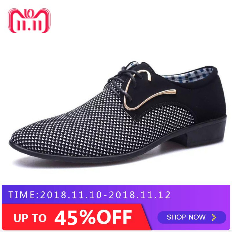 купить Cheapest mens dress shoes Pointed toe mens Oxfords wedding business white blue shoes lace up mens fashion flats 46 47AB-45 по цене 937.69 рублей