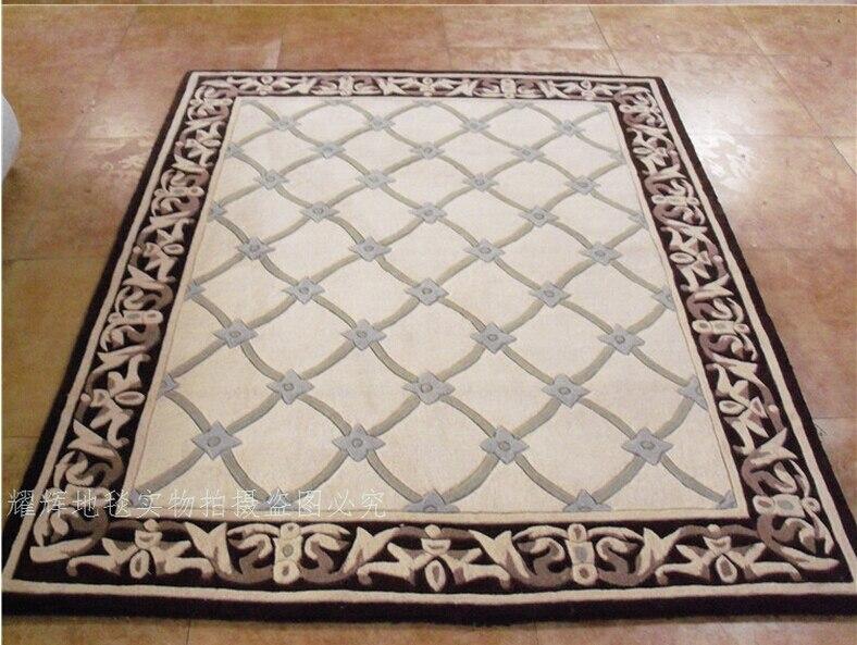 Tapis laine tapis et moquettes européens tapis salon Diamond tapete tapis alfombras tapis pour un salon moderne