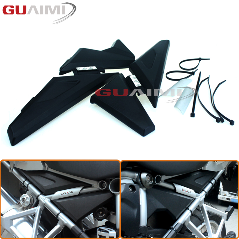 For BMW R1200GS LC/ R1200 GS LC Adventure 2013-2016 Motorcycle Upper Frame Infill Side Panel Set Guard Protector