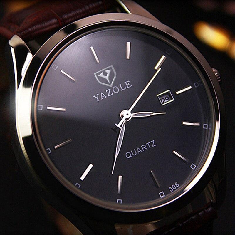 Reloj de cuarzo de marca 2018 Yazole para Hombre, de moda Blu-ray reloj de cuarzo, reloj coreano para Hombre, reloj femenino, reloj de cuarzo