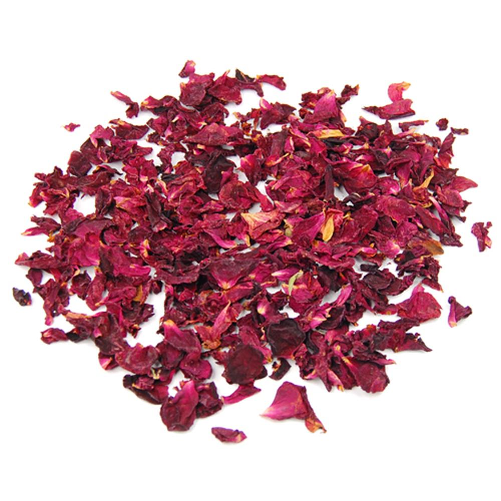 Hot sale in stock Bag of Fragrance Dried Rose Petals Flowers Natural Wedding Table Confetti Pot