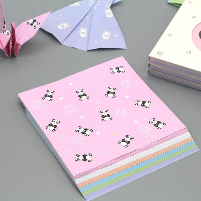 Online Shop 40pcs 40cm Square Origami Paper Print Patterned Mesmerizing Patterned Origami Paper