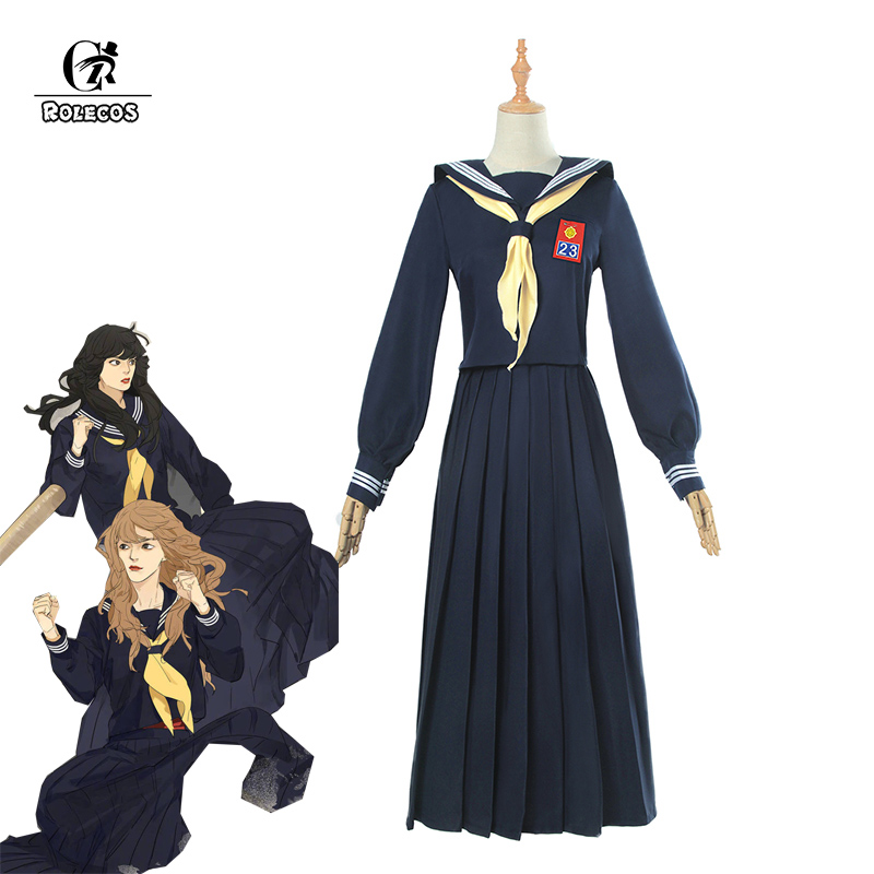 ROLECOS From Today It's My Turn Cosplay Costume Kyoko Hayakawa Dress Kyo kara Ore wa Cosplay Costume Gir JK Uniform Women Dress