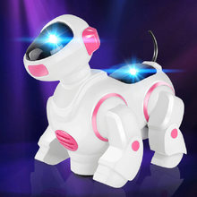 Robot Dog Pet Toy Smart Electronic Kids Interactive Walking Puppy Sing Dance New(China)