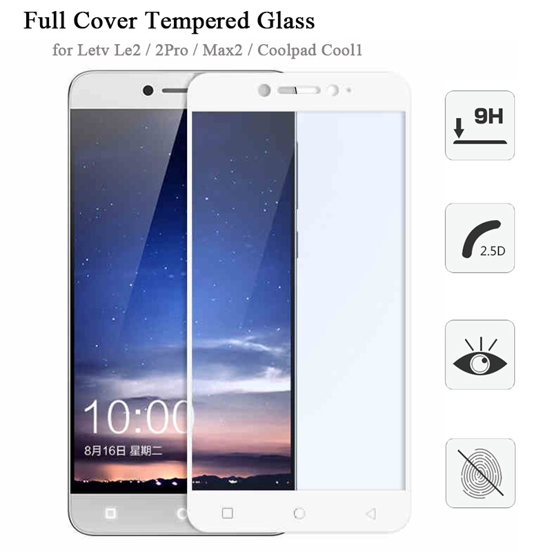 HD Full Cover Tempered Glass for Letv Le2 2Pro Max2 X520 X620 X820 ... X520 X620