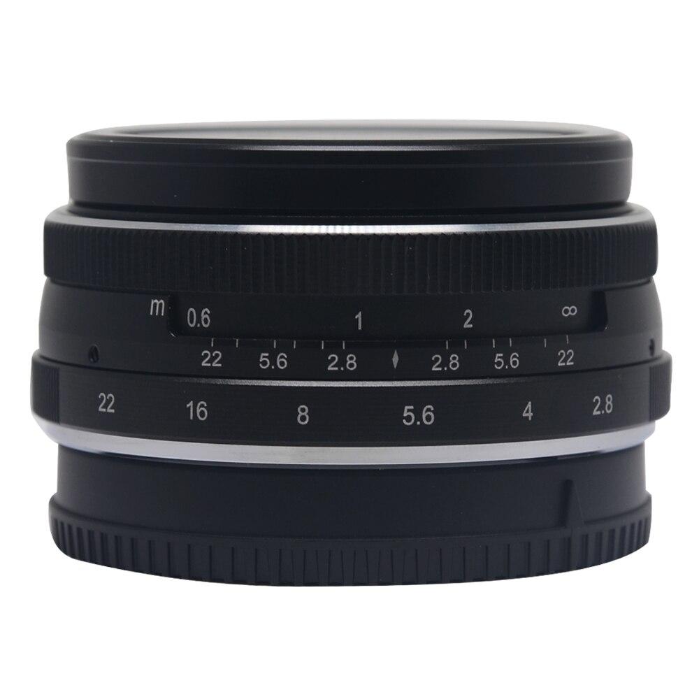 Meike MK 28mm f2 8 large Aperture Manual Multi Coated Focus lens APS C for Fujifilm