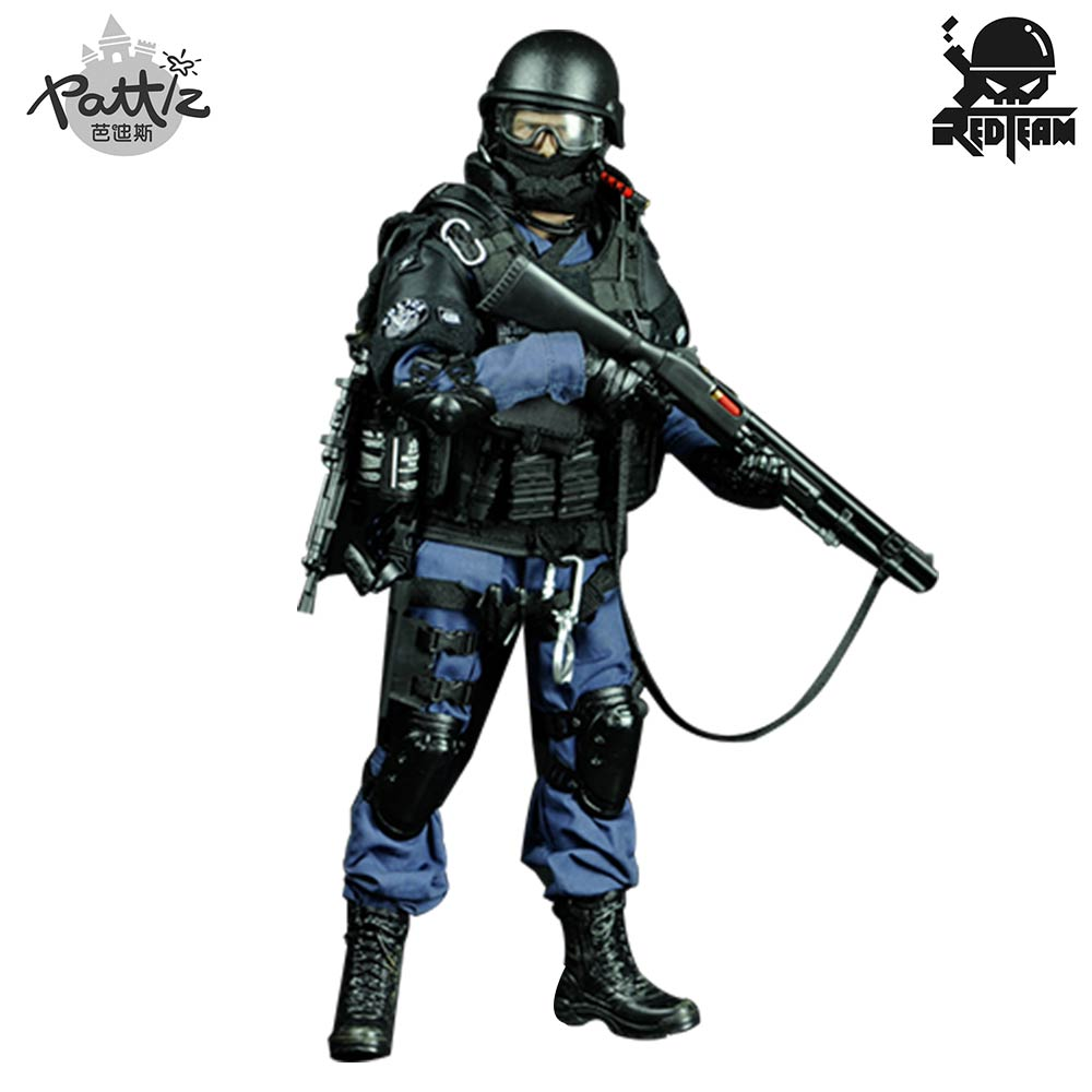 Image 5 - PATTIZ 1/6 Scale Military Solider Figure Toys Set Collectable US Swat Team Model DIY Clothes Doll Action Figure Gun Toy for Boys-in Action & Toy Figures from Toys & Hobbies
