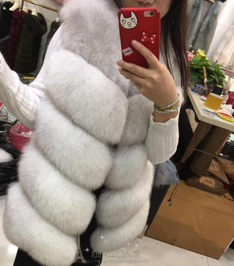 Gilet Femmes Z4 Taille Artificielle Fausse 5xl Plus De Manteau La Fourrure D'hiver 2019 Chaud Moelleux Vestes Faux Femme En Gilets w4Czp