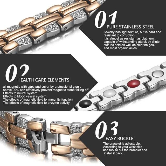 Купить элегантный женский браслет welmag женские магнитные браслеты