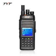 TYT md398 Двухстороннее Радио UHF 400-470 МГц DMR GPS Цифровое Радио 1000 Каналов Цифровой Walkie Talkie Водонепроницаемый си-би радиостанция Handy