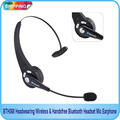 Free Shipping!!Handsfree Bluetooth Headset Mic Earphone/Headwearing Wireless/Wireless headphones ear earphone