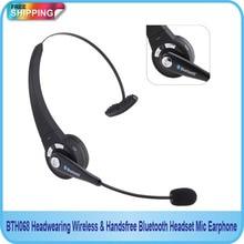 Free Shipping!!Handsfree Bluetooth Headset Mic Earphone/Headwearing Wireless/Wireless headphones ear earphone