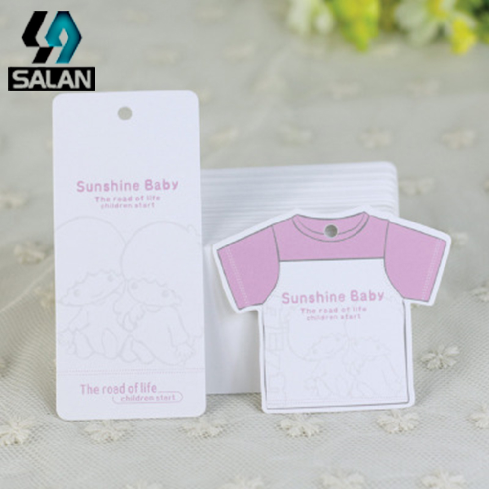 The new cute pink Xiaoyi design children s clothing children s clothing tag men and wome ...