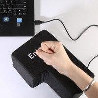 20 14 10CM Antistress Pillow Gadget Entertainment Novelty Gag Toys Ultra Big Creative Enter Button Stress