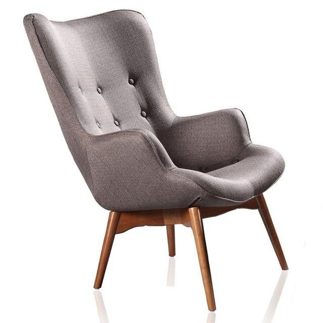 mitte des jahrhunderts moderne sessel stuhl retro kontur stuhl wohnzimmer mbel gedmpften stoff sessel stoffbezug akzent stuhl - Mitte Des Jahrhunderts Modernes Wohnzimmer