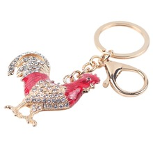 CHINESE NEW YEAR ALLERT! High Quality Alloy Chicken Rooster Key Chain