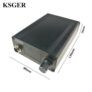 Image 4 - KSGER STM32 2.1S OLED DIY T12 はんだごてステーション FX9501 合金ハンドル電動工具温度コントローラホルダー溶接
