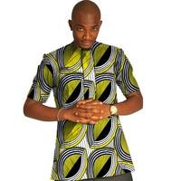 Dashiki Men Dress Tshirt African Clothes Fashion Print Short Sleeve Tops Man T shirt Africa Style Design Dance Festive Costume
